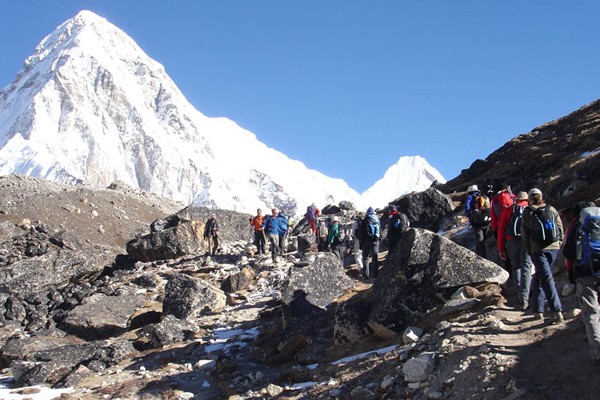 Everest Base camp-Chola pass-Gokyo Trek